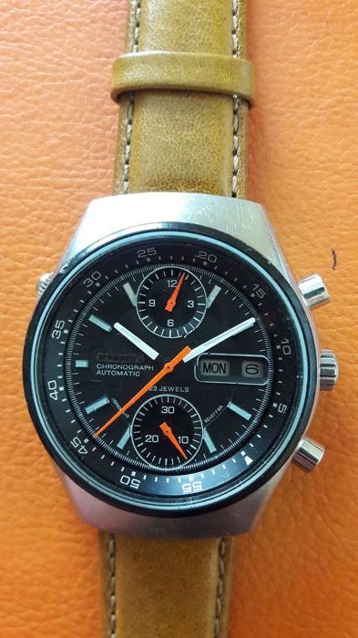 Citizen - Flyback  and Chronograph ,Rotating bezel,  cal.8110 - 67-9119 - Uomo - 1970-1979