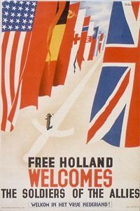 Pat Keely - Free Holland welcomes the soldiers of the Allies - 1945