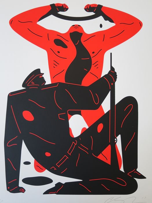 Cleon Peterson - The Collaborator (White)