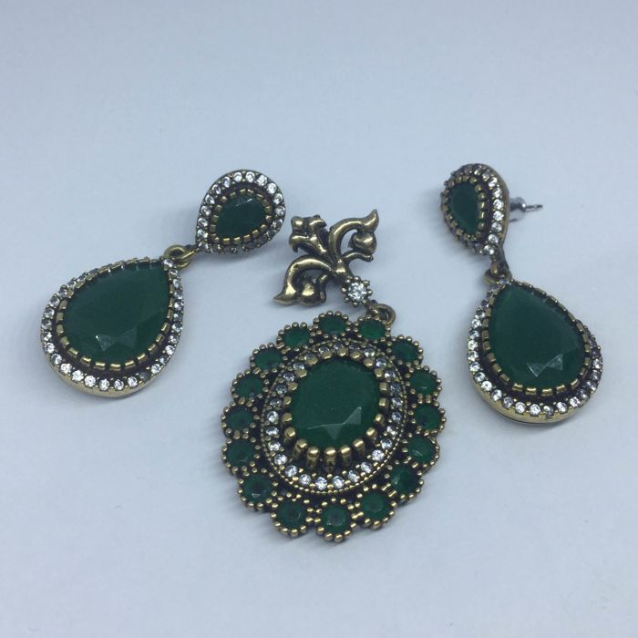 925 Silver - Earring and Pendant set