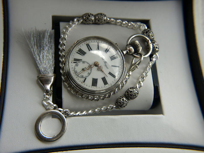 Spiral  Breguet - pocket watch NO RESERVE PRICE - 3713 - Uomo - 1850-1900
