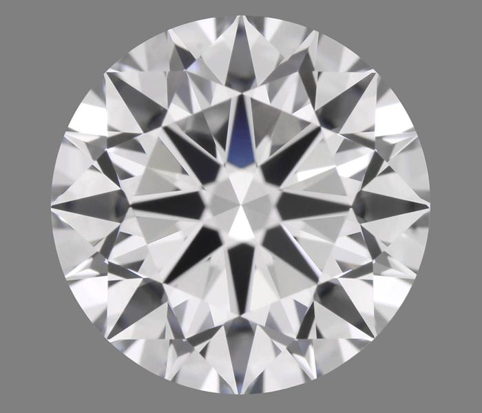 1 pcs Diamant - 0.91 ct - Briljant - E - VS1