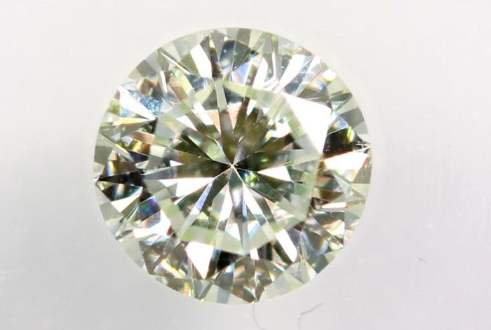 Diamante - 0.27 ct - Brillante - VVS2 - Green - IGI Certificate