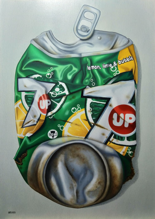 Atom - can 7up