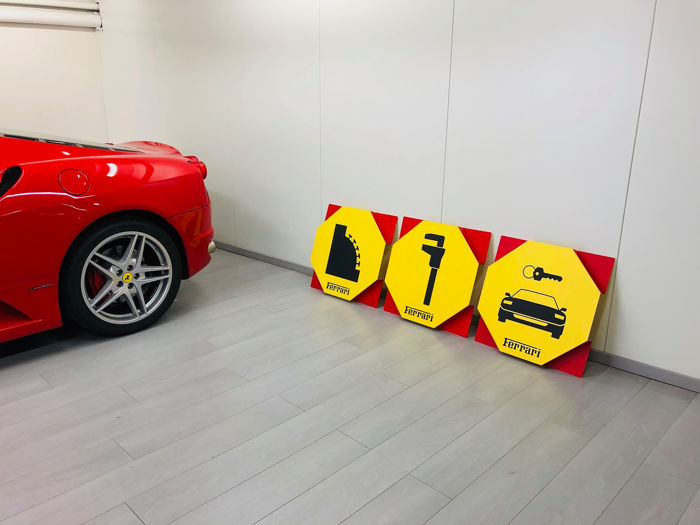 Badge Ferrari Garage Signs 1970 Catawiki