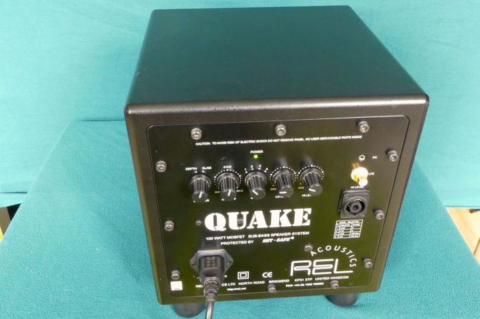 REL - QUAKE - MOSFET - Active subwoofer - Catawiki