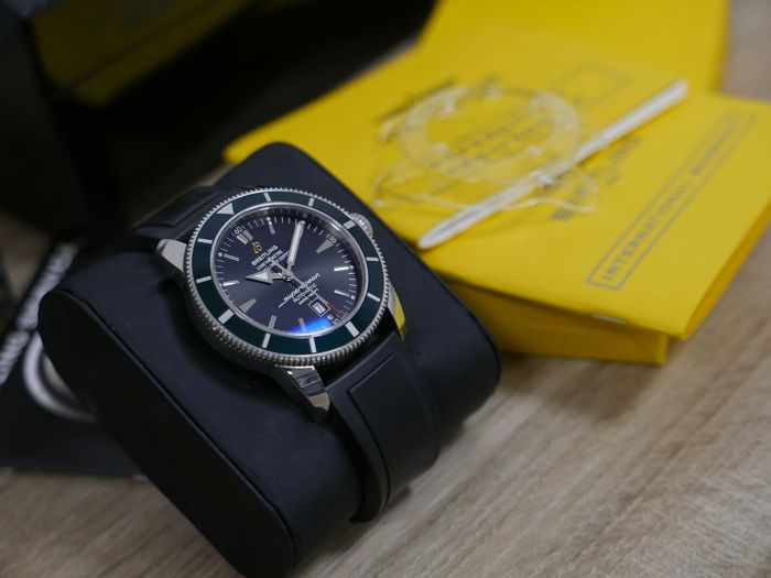 Breitling - Super Ocean Heritage 46  Limited Ed. 0321/1000 - Ref. A17320 - Hombre - 2000 - 2010