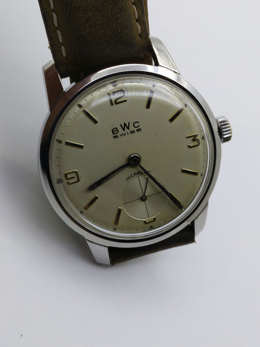 BWC-Swiss - Vintage Mechanical Subsecond - 803003 - Hombre - 1970-1979