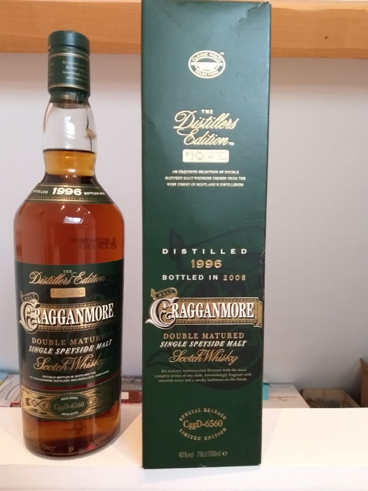 Cragganmore 1996 Distillers Edition - Official bottling - b. 2008 - 0.7 Litres