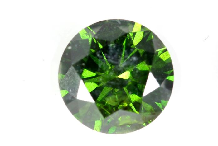 Diamant - 1.01 ct - Briljant - ( Color Treated ) - * NO RESERVE PRICE *