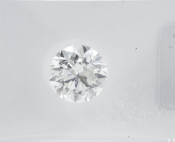 Diamante - 1.00 ct - Brillante - F - SI1