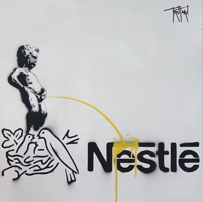 Truteau  - The Manneken-Pis on Nestle