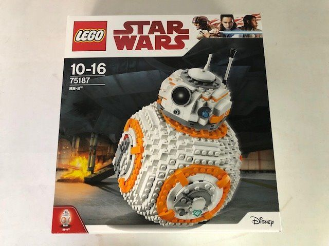 LEGO 75187 Star Wars BB-8 BRAND NEW IN BOX