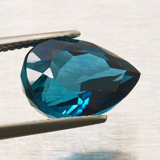 Azul de londres Topacio - 7.63 ct