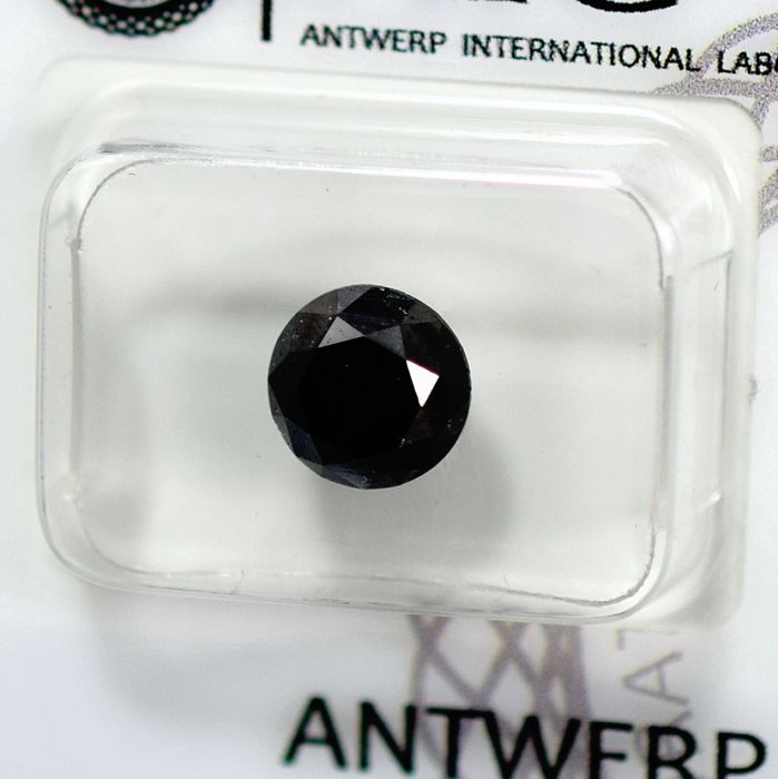Diamante - 2.19 ct - Brillante - Black - N/A - NO RESERVE PRICE