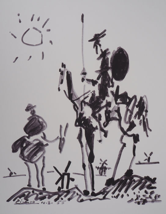 Pablo Picasso - Don Quichotte