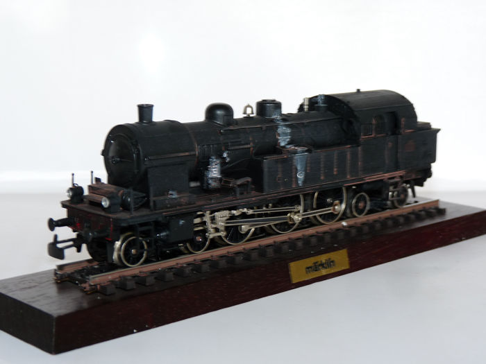 Märklin H0 - 3117 - Locomotive à tender - BR 232, patiné - SNCF