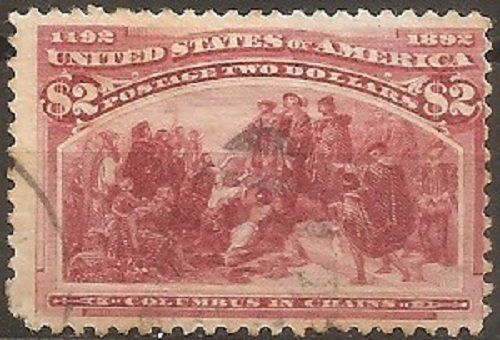 Verenigde Staten 1893 - U.S.A. Lot 24, used stamp - Unificato 112