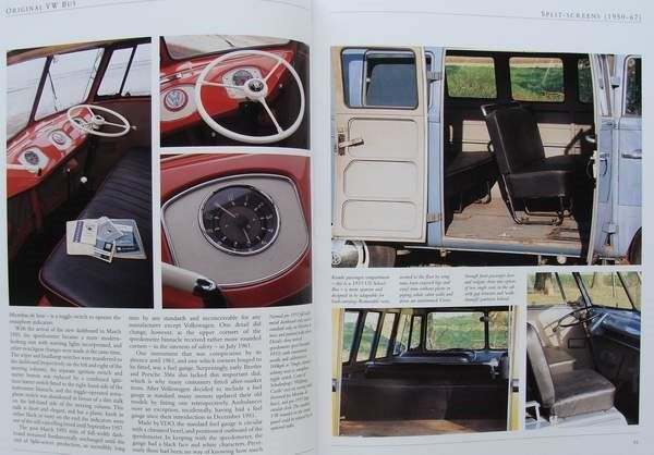 Original VW Bus Panel Van and Pick-up Models 1950-1979 The Restorers Guide to all Bus