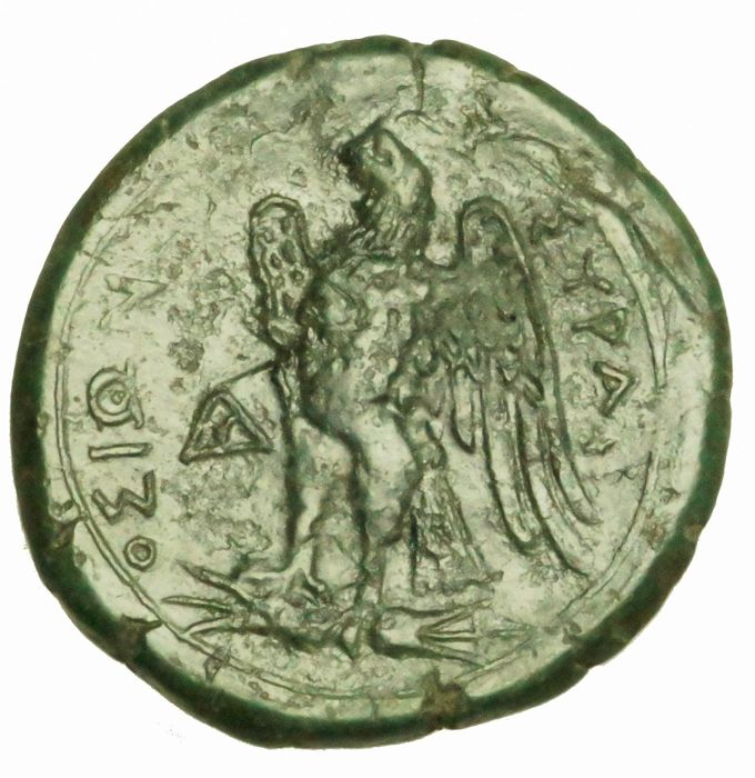 Greece (ancient) - Sicily, Syracuse. AE Litra, 288-279 BC