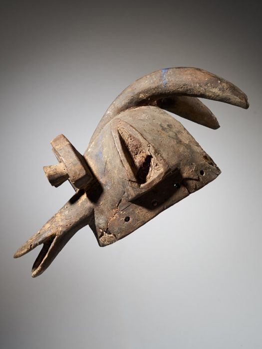 Dog mask 'Suga' - Wood - Mambila - Nigeria