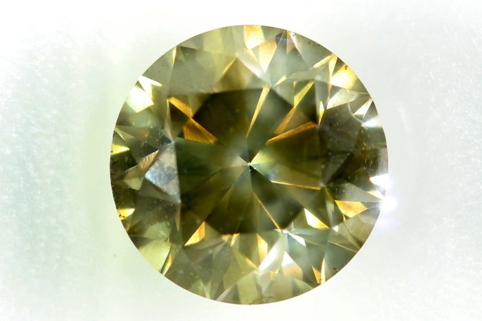 Diamante - 1.71 ct - Brillante - SI2 - * NO RESERVE PRICE *