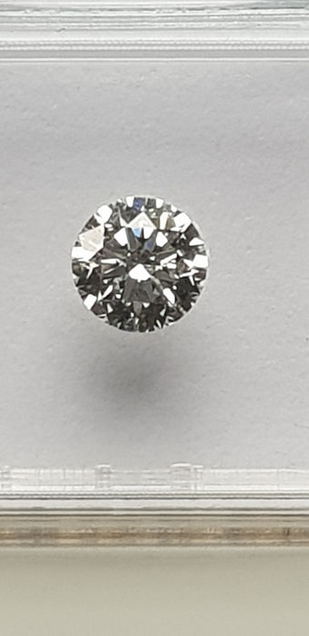 1 pcs Diamond - 0.51 ct - 明亮型 - E - VS1 轻微内含一级