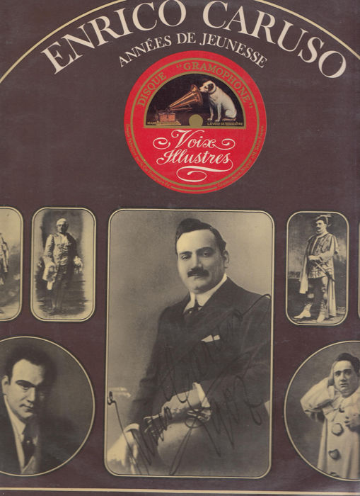 Enrico Caruso and Related - Multiple artists - Singers and Choruses & Duets - Top Quality  - Multiple titles - LP's - 1959/1990