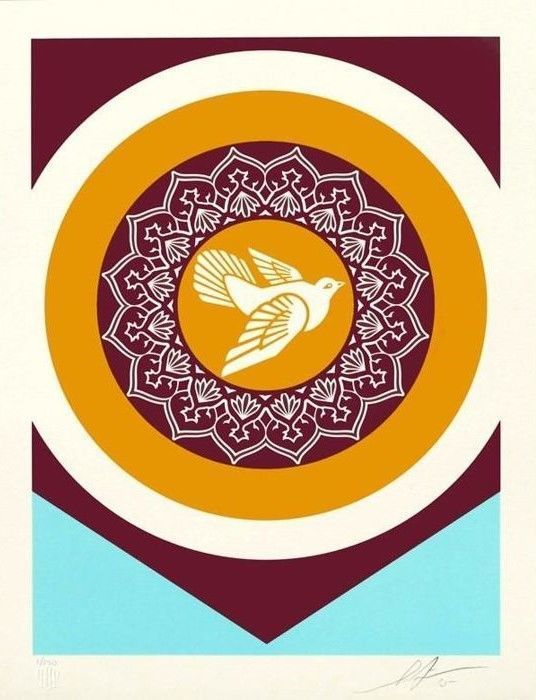 Shepard Fairey (OBEY) - Obey Peace Dove 2