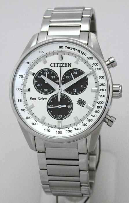 Citizen - Professional Crono Urban Style Stell - Eco Drive -  AT2390 - Homme - 2019