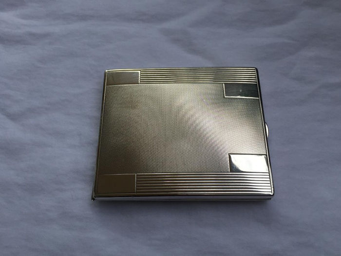Cigarette case - .800 silver - Robert Kraft - Germany - First half 20th century