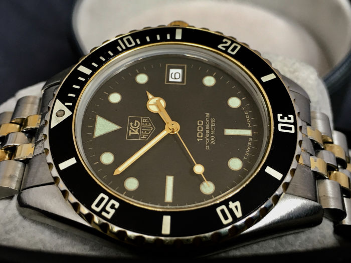 TAG Heuer - 1000 Professional - Ref. 980.020 N - Hombre - 1980-1989