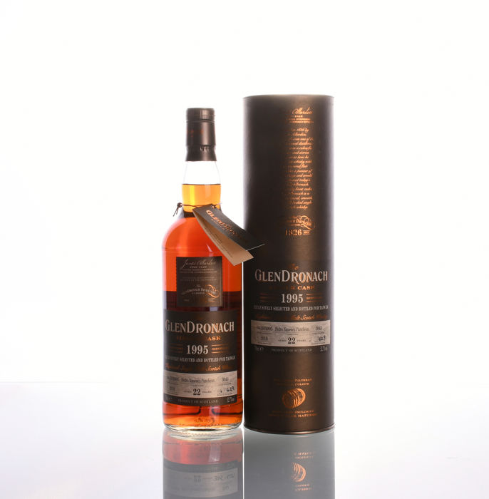 Glendronach 1995 22 years old Single Cask #3043 Taiwan Exclusive 629 bottles only!  - 700ml