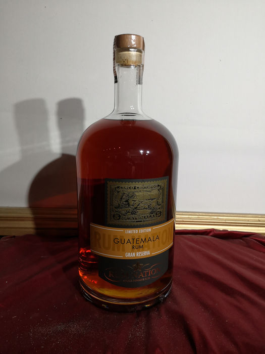Guatemala Rum Nation -  4.5 L release 2018 gran reserva limited edition  - 450 cl