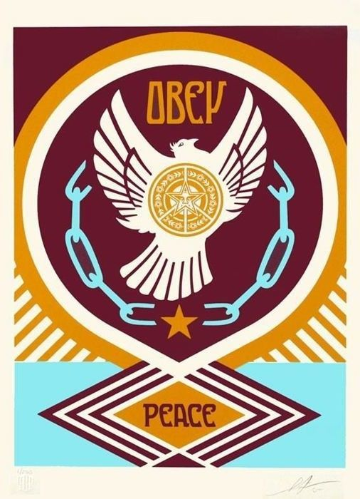 Shepard Fairey (OBEY) - Obey Peace Dove 1