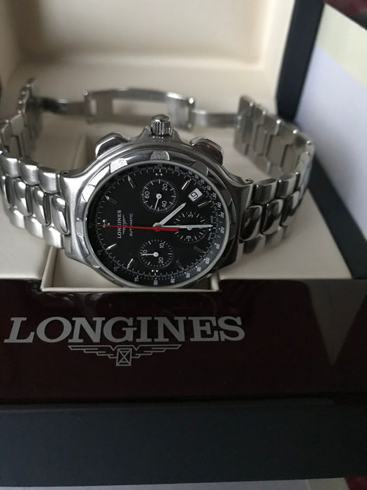 Longines - Conquest Heritage - Automatic Chronograph - Ref. L1.623.4  - Heren - 2000-2010
