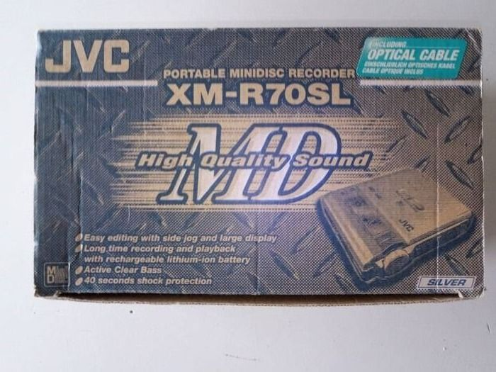 JVC - XM-R70SL - Mini Disc Player
