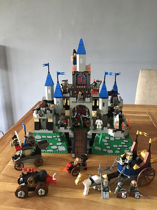 LEGO - Knights Kingdom - 6091 + 7078 + 4816 + 4807 - Castle kingdom