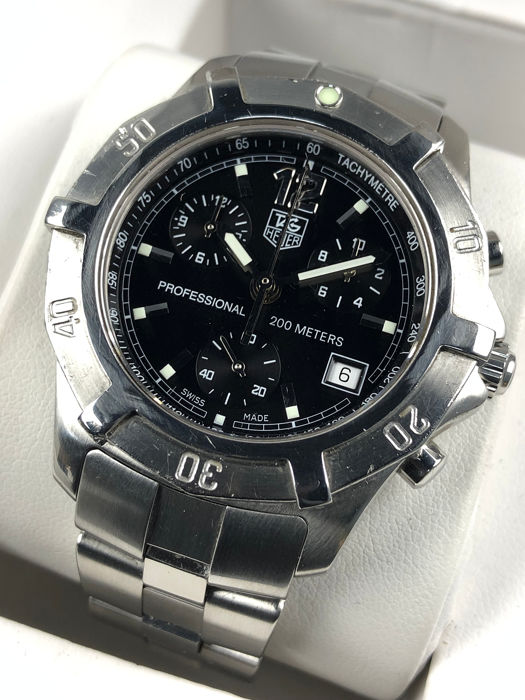 TAG Heuer - Professional 200M Chronograph - CN1110 - Mænd - 2000-2010