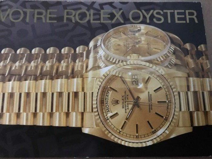 Rolex - booklet daydate french - 579.51  Fr-10-7.1990 - Unisex - 1990-1999