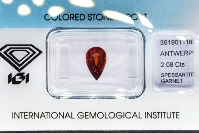 Spessartite Garnet - 2.08 ct