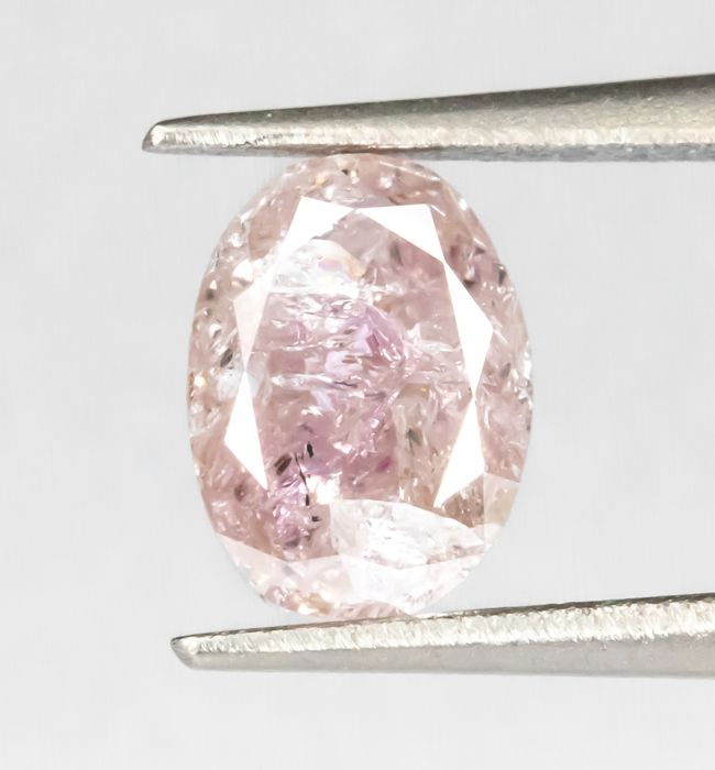 Diamante - 0.66 ct - Natural Fancy Pink - I3  *NO RESERVE*
