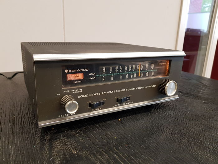 Kenwood - Very rare KT-1000 from 1968 - Tuner
