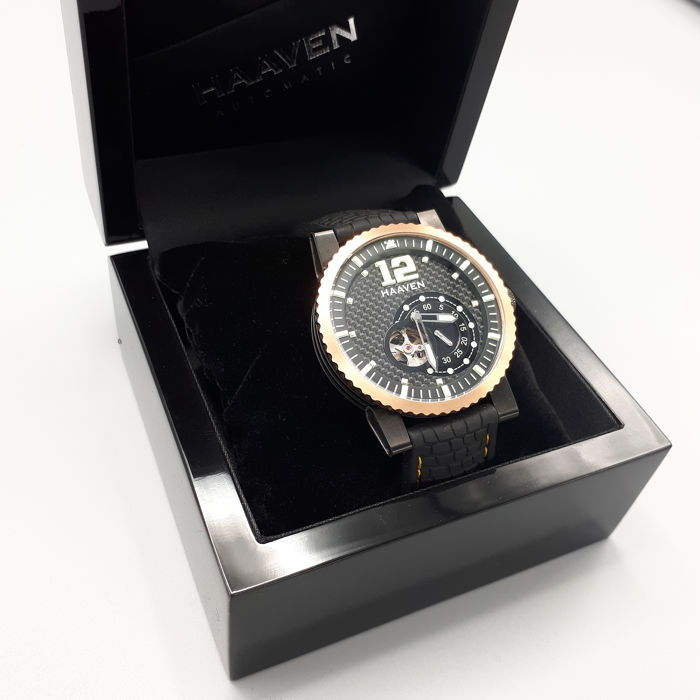 Haaven Automatic - 90902R-BK - New - Complete Set - Men - 2011-present