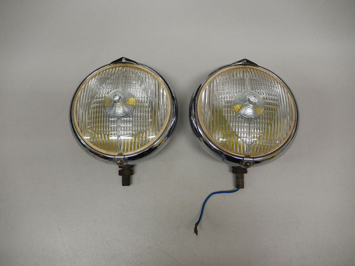 Lámpara - A Pair of Chrome Marchal 660 French Vintage Spotlights in Good Used Condition - 1960-1970
