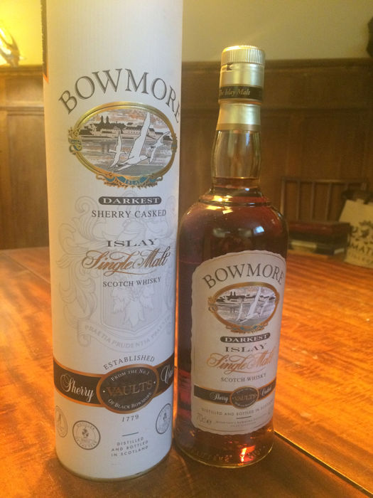 Bowmore Darkest - Original bottling - b. 1990s - 70cl