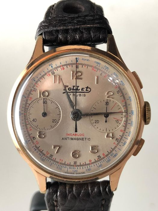 Tollet - Chronograph - 2514 - Heren - 1970-1979