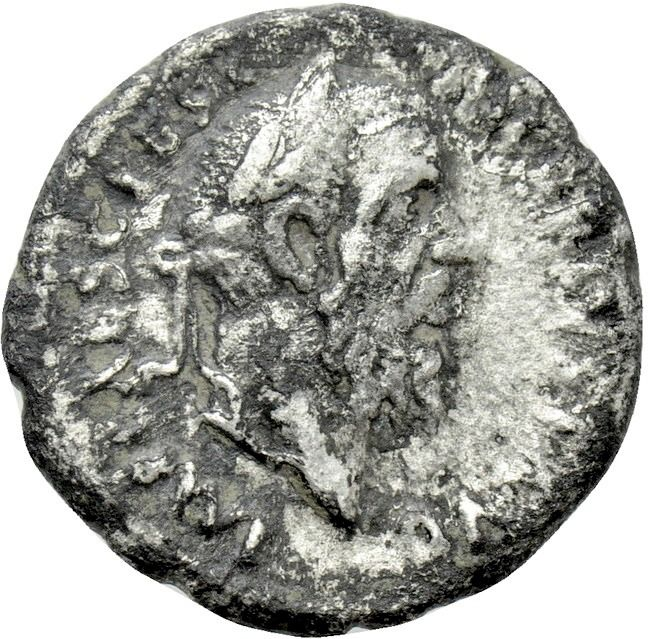 Roman Empire - Denarius - Pescenius Niger (193-194 A.D.) Antioch mint, A.D. 193-194. - The annihilation of power  - Silver