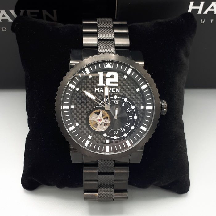 Haaven Automatic - 90902BK-BK - New - Complete set - Men - 2011-present