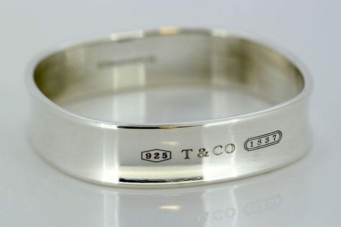 """Tiffany & Co """"1837 Collection""""  - 925 Zilver - Bangle"""